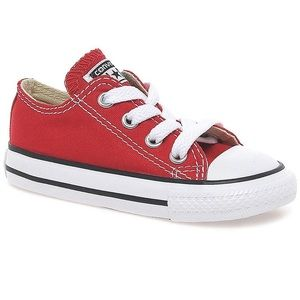 Converse shoes / All Star Toddler Low Top Red